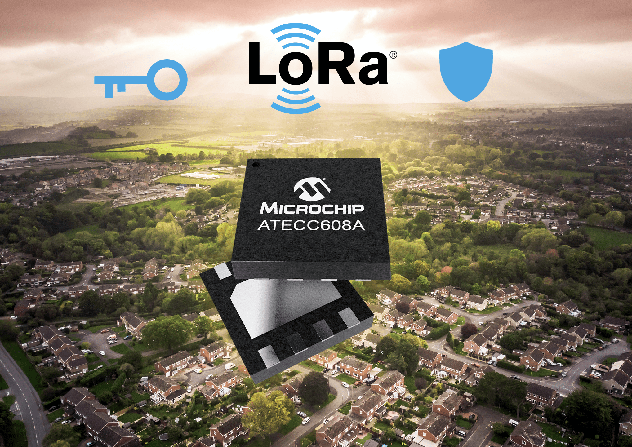 Microchip Release Industry's 1st End-to-End LoRa®Security